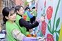 ASEZ WAO, 서울 강북구서 벽화 그리기 봉사 펼쳐