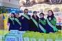 의리로 뭉친 전국녹색어머니연합회와 김보성