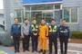송탄소방서, 주택화재 화재진압에 앞장선  경찰관 표창 수여
