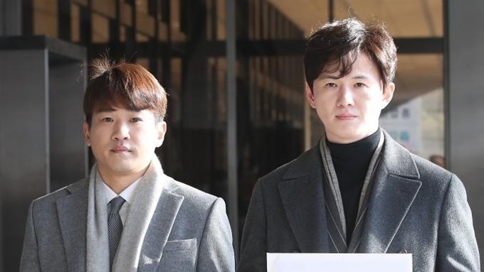 '킴킴변호사' 김상균·김호인, 강용석 고발