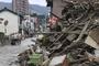 일본 폭우 아베 당황, 한신대지진 동급 위기 '특별비상재해' 지정[종합]