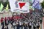 민주노총, 서울시 집회금지 명령에도 불구 광복절 대규모 집회 강행