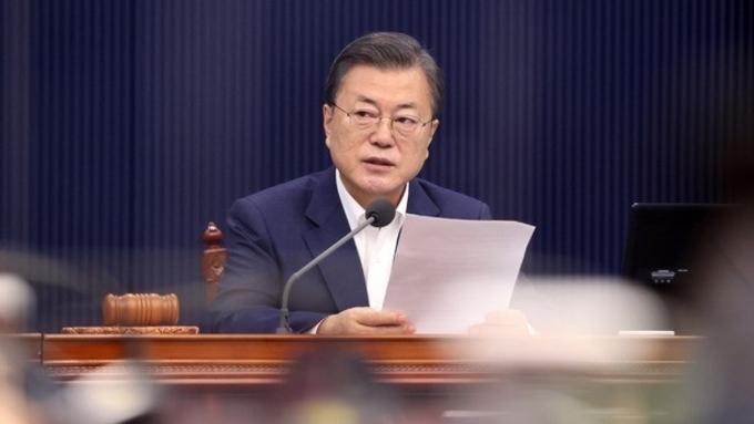 文대통령, 신년 회견 D-1…靑, 최종 리허설 점검