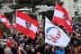 오스트리아서 1만명 코로나 봉쇄에 반대시위