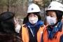 박영선, 성북구 아파트 화재현장 방문...피해주민 위로