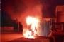 평택서 창고와 충돌한 승용차 전복 화재...운전석 1명 숨져