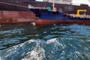 부산 남외항 중국 원양어선서 기름 해상 유출…방제 완료