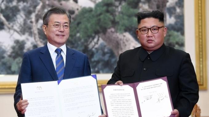 """9·19공동선언 3주년…""""평화 위한 걸음"""" vs """"일회성 이벤트"""""""
