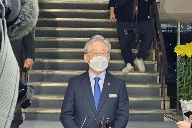 국회 국감 마친 이재명, 지사직 사퇴 초읽기…22일·25일 거론